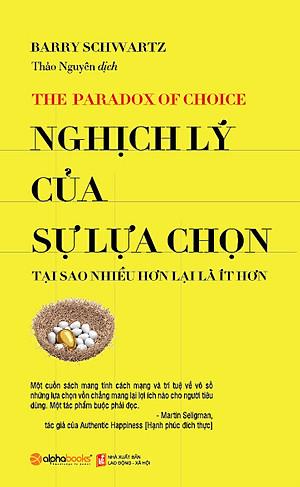 Ảnh bìa sách Nghịch lý của sự lựa chọn