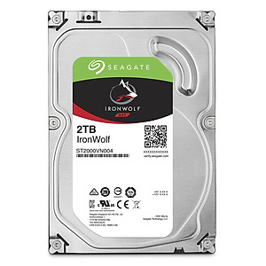 Ổ Cứng HDD Seagate IronWolf 2TB 64MB 3 5 ST2000VN004