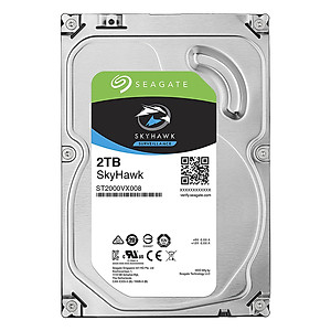 Ổ Cứng HDD Video Seagate SkyHawk 2TB 64MB 3 5 ST2000VX008