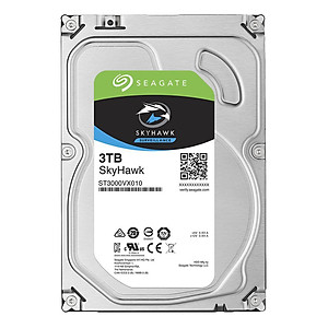 Ổ Cứng HDD Video Seagate SkyHawk 3TB 64MB 3 5 ST3000VX010