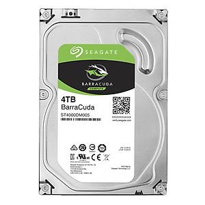 Ổ Cứng HDD Seagate BarraCuda 4TB 64MB 3 5 ST4000DM005