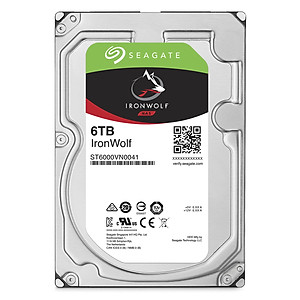 Ổ Cứng HDD Seagate IronWolf 6TB 128MB 3 5 ST6000VN0041