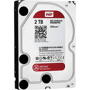 Ổ Cứng HDD NAS WD Red 2TB 64MB 5400 3 5 WD20EFRX