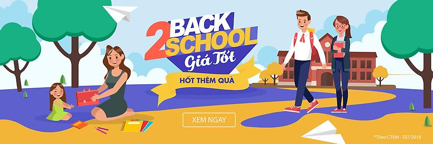 Back To School giá tốt hốt thêm quà