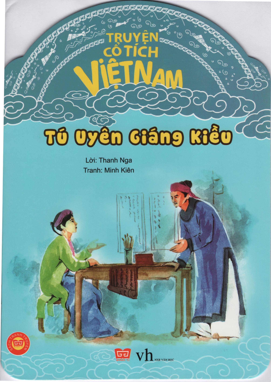 Bìa sách Truyện Cổ Tích Việt Nam - Tú Uyên Giáng Kiều