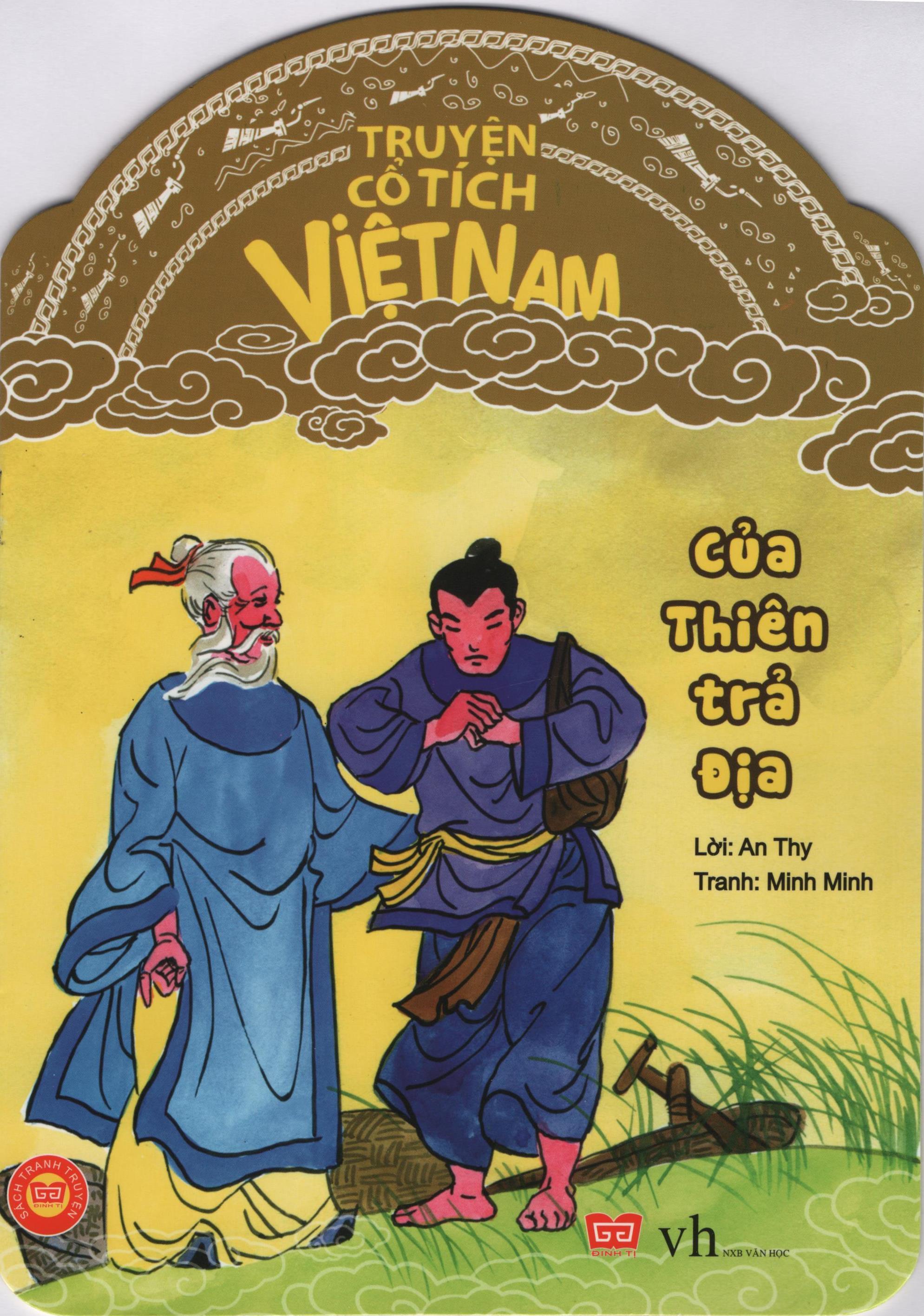 Bìa sách Truyện Cổ Tích Việt Nam - Của Thiên Trả Địa