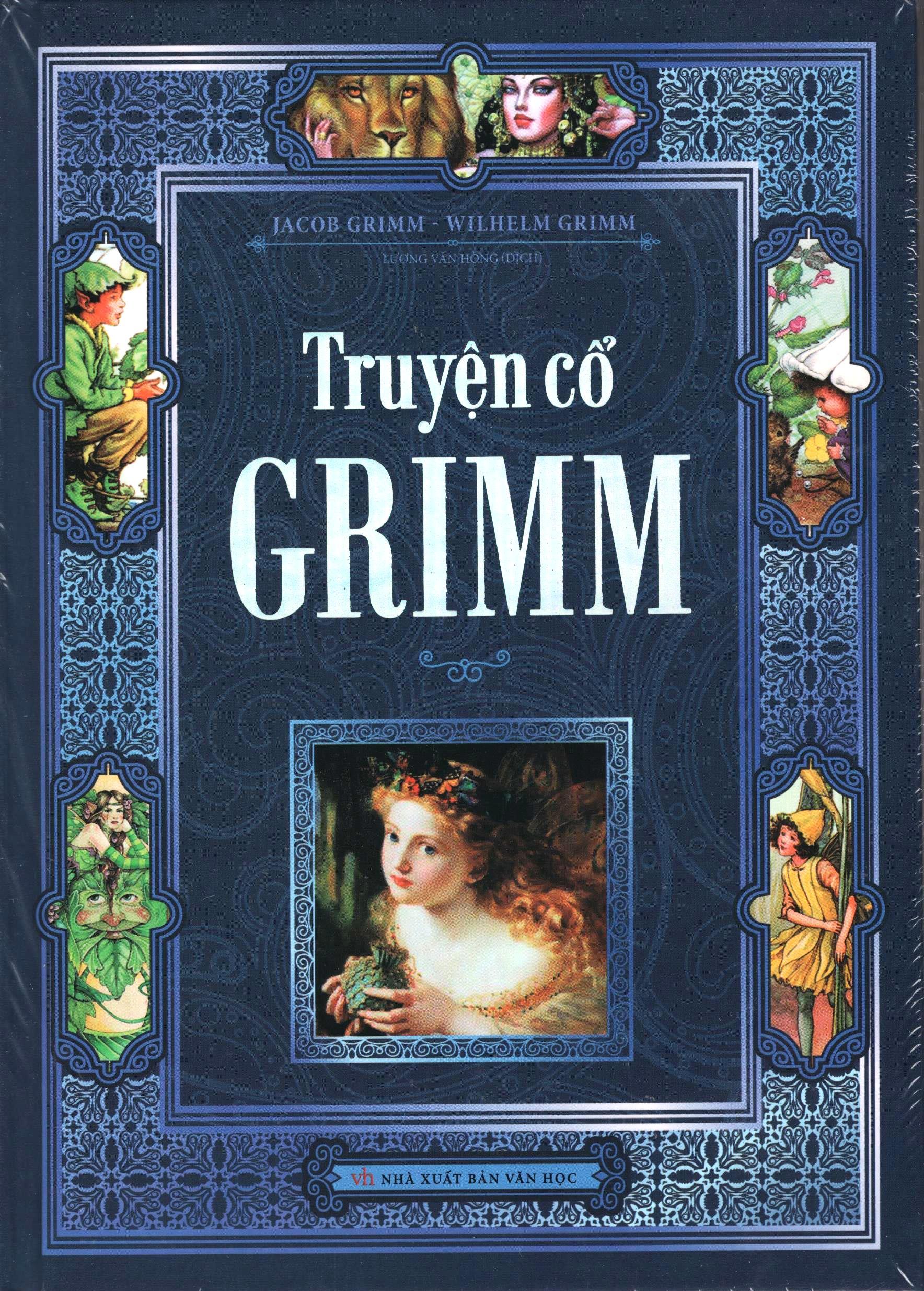 Bìa sách Truyện Cổ Grim