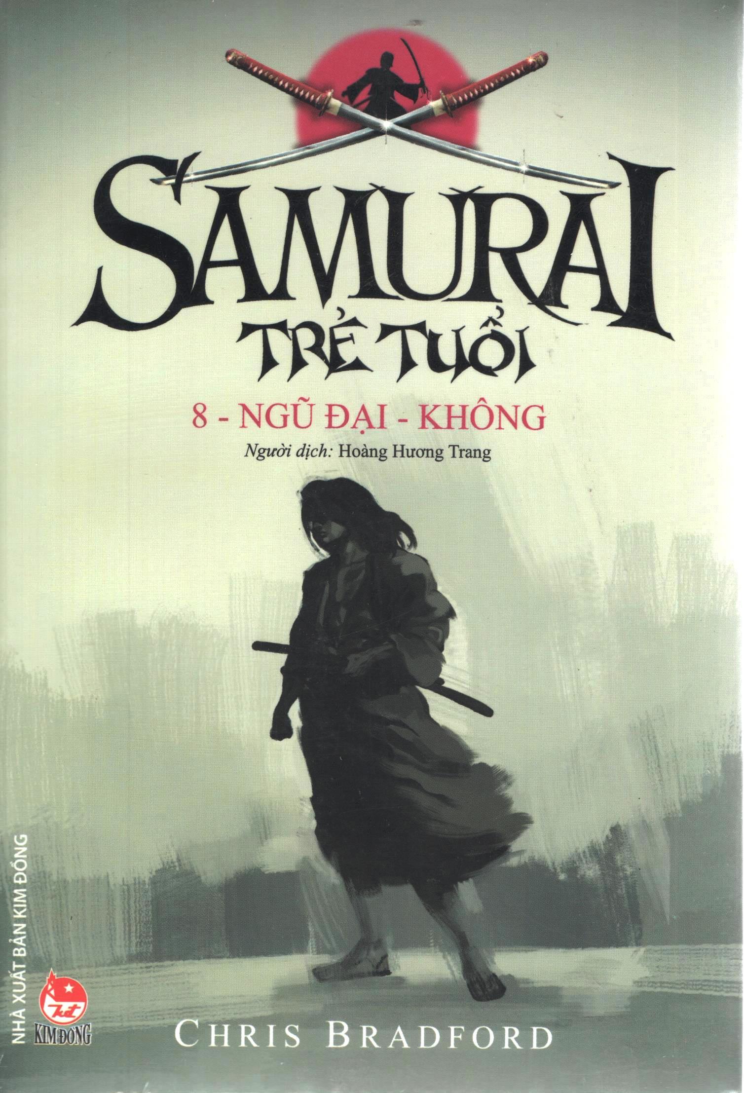 Bìa sách Samurai Trẻ Tuổi (Tập 8) - Ngũ Đại - Không