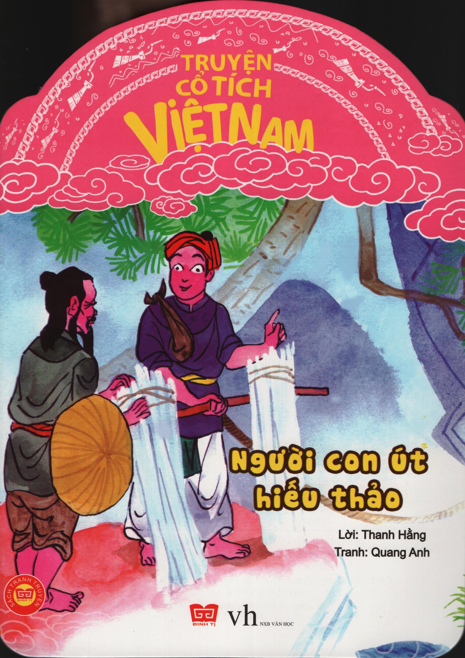 Bìa sách Truyện Cổ Tích Việt Nam - Người Con Út Hiếu Thảo
