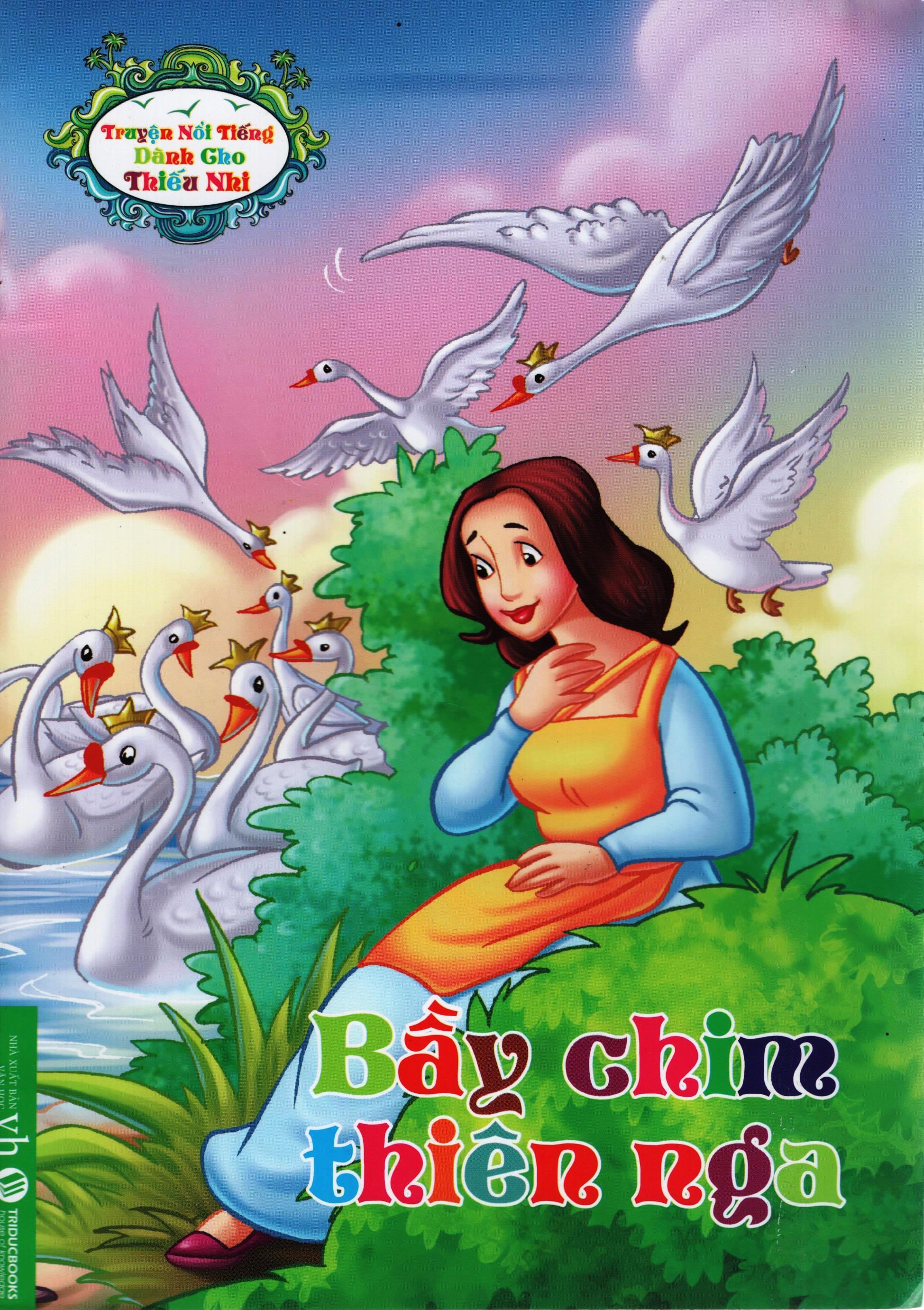 Bìa sách Truyện Nổi Tiếng Dành Cho Thiếu Nhi – Bầy Chim Thiên Nga