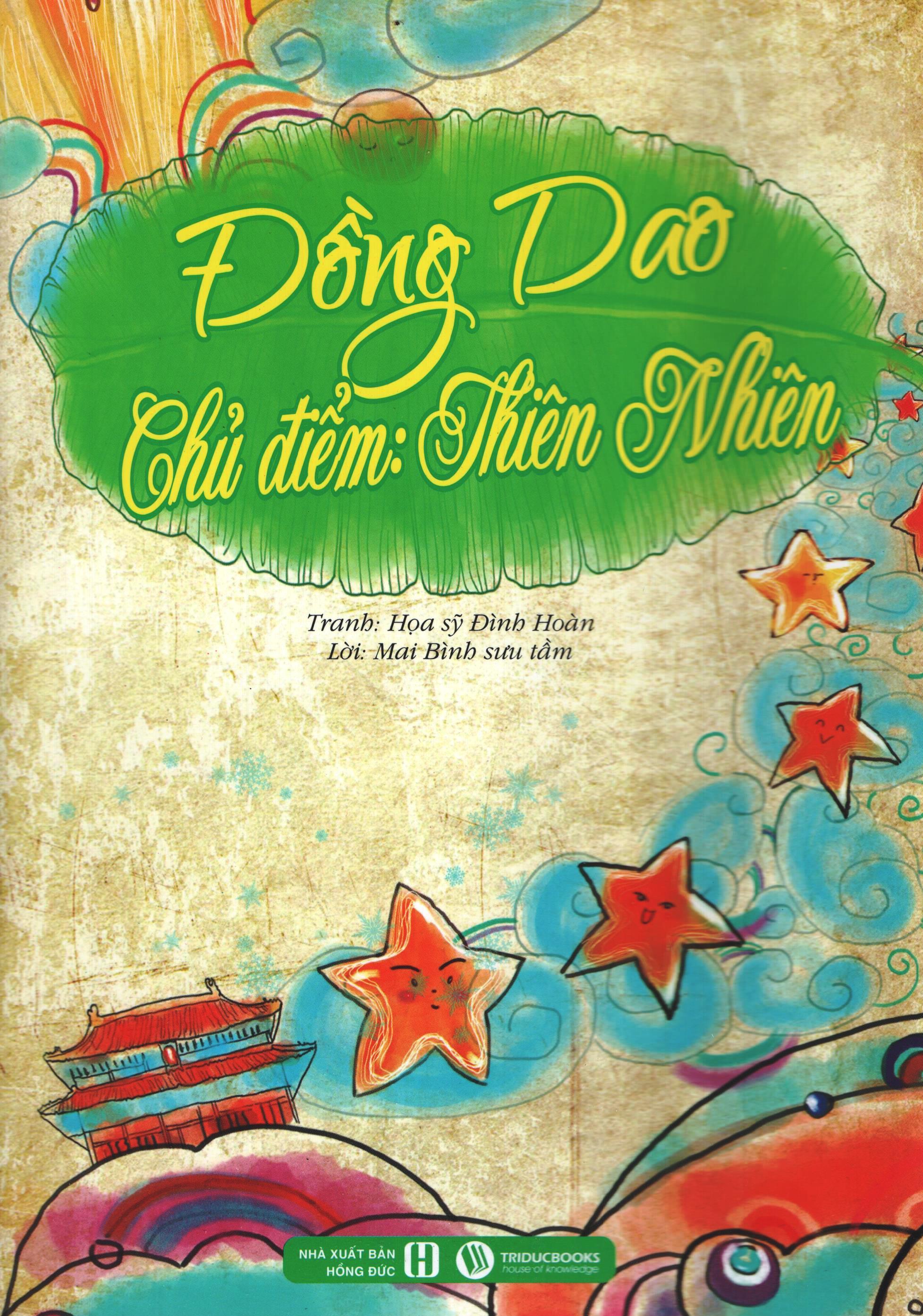 Bìa sách Đồng Dao - Thiên Nhiên