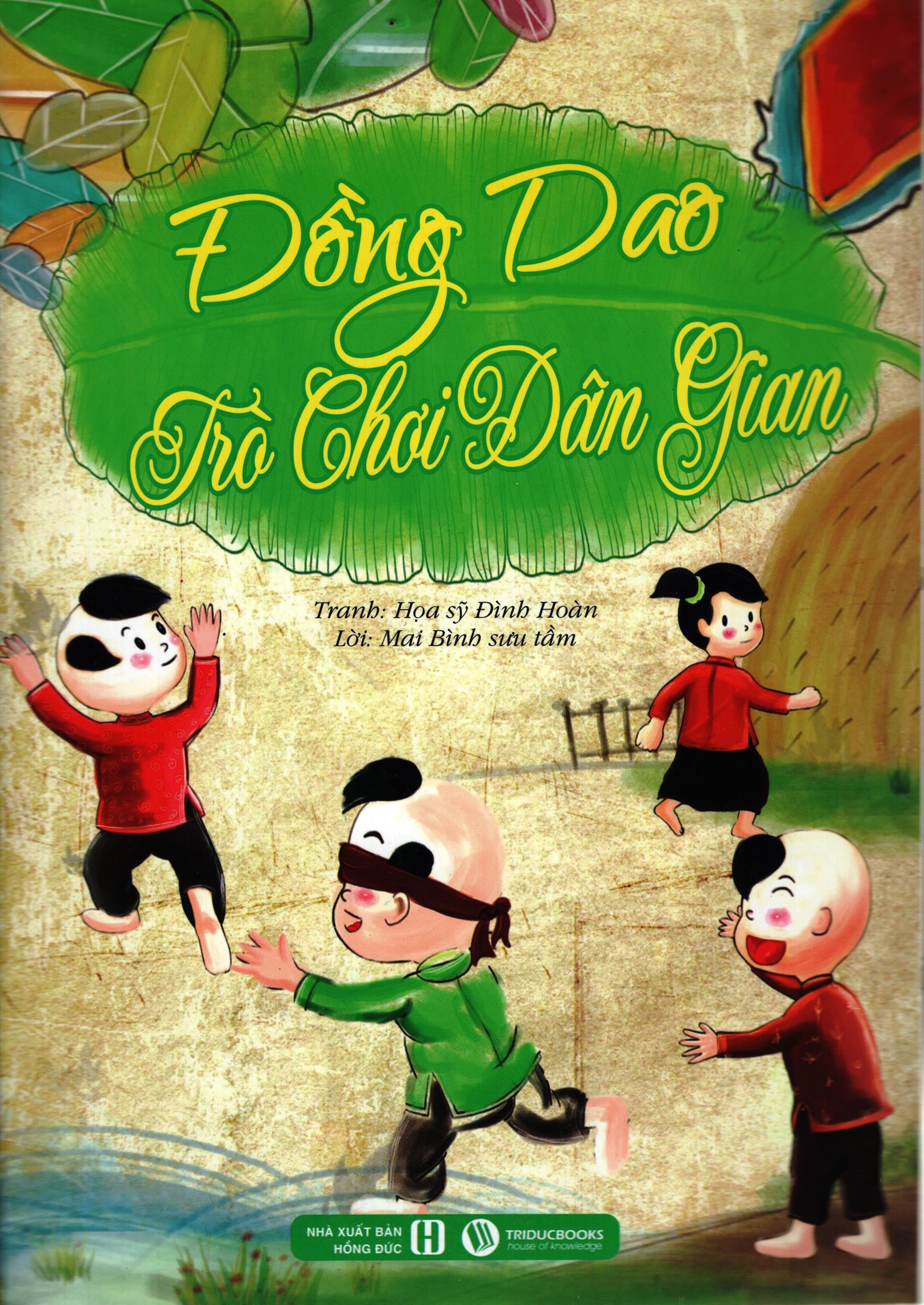 Bìa sách Đồng Dao – Trò Chơi Dân Gian