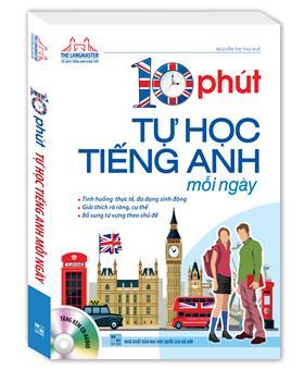 Bìa sách 10 Phút Tự Học Tiếng Anh Mỗi Ngày (Kèm CD)