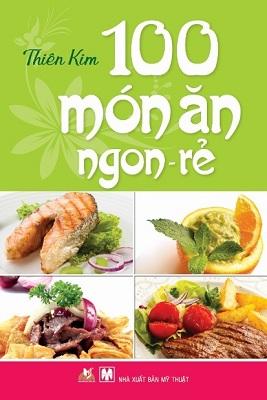 Bìa sách 100 Món Ăn Ngon Rẻ