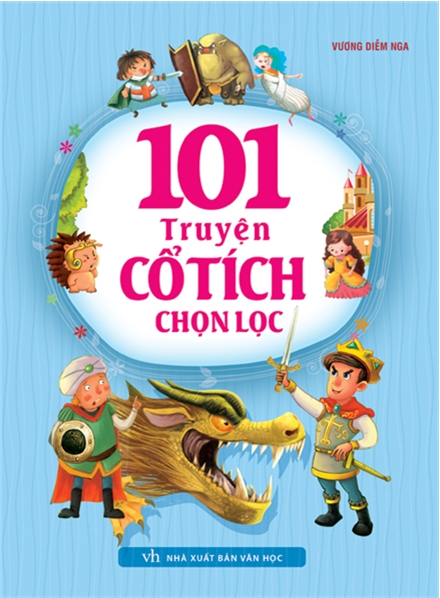 Bìa sách 101 Truyện Cổ Tích Chọn Lọc