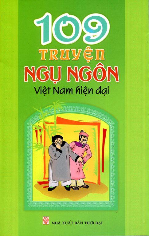 Bìa sách 109 Truyện Ngụ Ngôn Việt Nam Hiện Đại