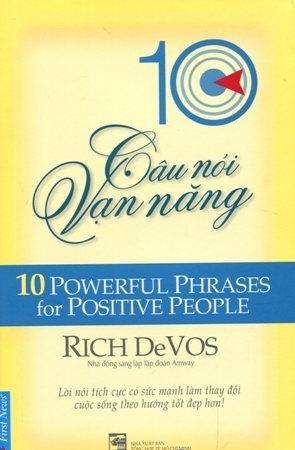 Bìa sách 10 Câu Nói Vạn Năng (10 Powerful Phrases For Positive People)