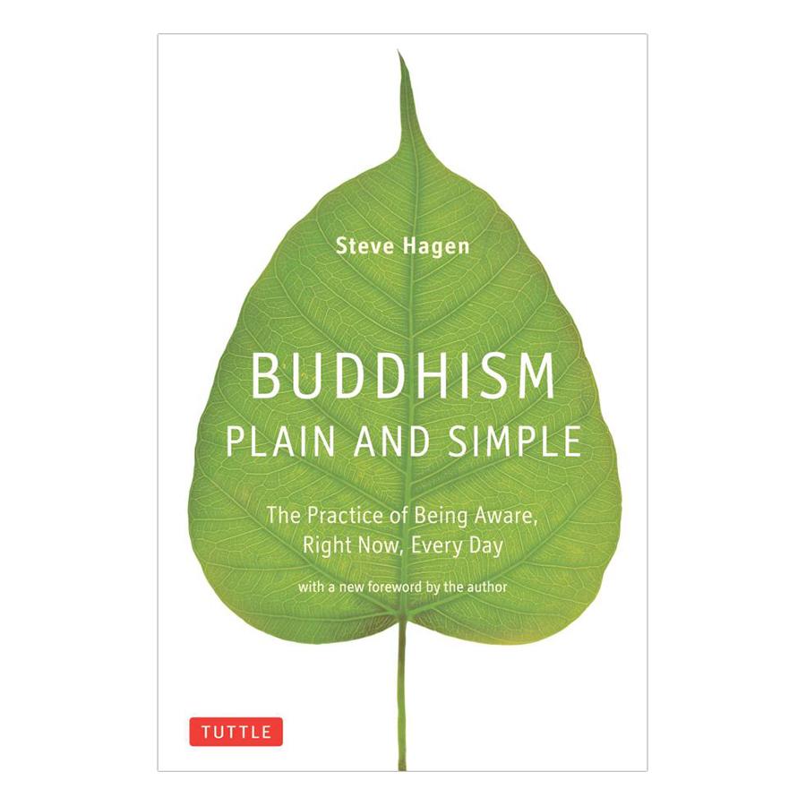 Bìa sách Buddhism Plain And Simple