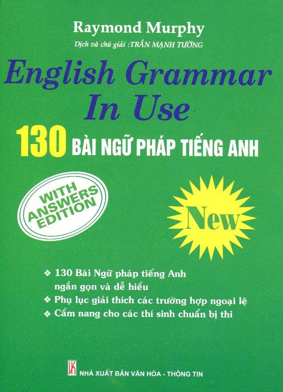 Bìa sách 130 Bài Ngữ Pháp Tiếng Anh (Tái Bản 2014)