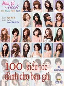 Bìa sách 100 Kiểu Tóc Dành Cho Bạn Gái