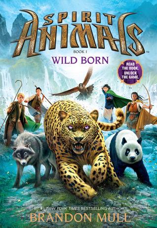 Bìa sách Spirit Animals #1: Wild Born - Paperback