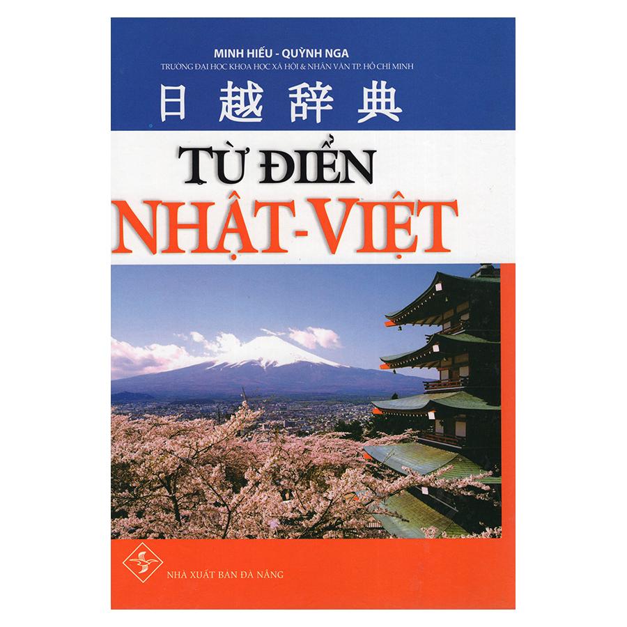 Bìa sách Từ Điển Nhật Việt
