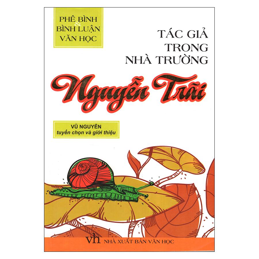 Bìa sách Tác Giả Trong Nhà Trường - Nguyễn Trãi