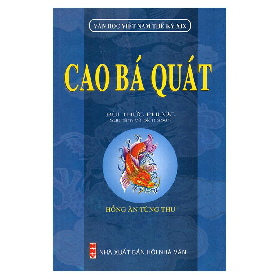 Bìa sách Cao Bá Quát (Văn Học Việt Nam Thế Kỷ XIX)