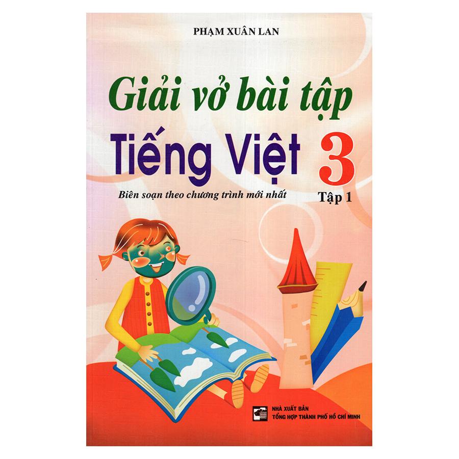 Bìa sách Giải Vở Bài Tập Tiếng Việt 3 (Tập 1)