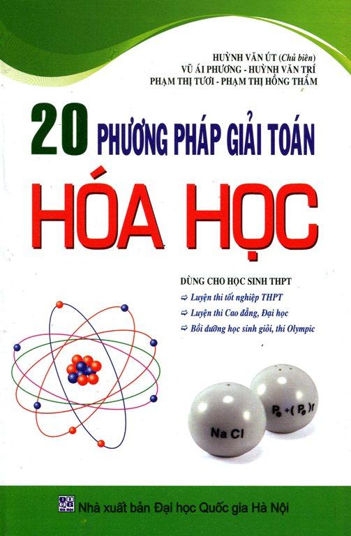 Bìa sách 20 Phương Pháp Giải Toán Hóa Học