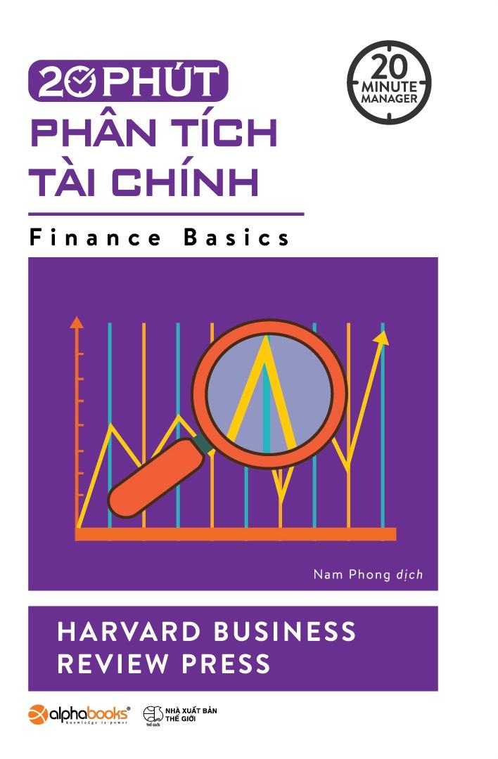 Bìa sách 20 Phút Phân Tích Tài Chính (20 Minute Manager)