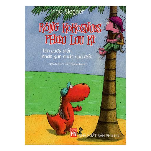 Bìa sách Rồng Kokosnuss Phiêu Lưu Kí - Tên Cướp Biển Nhát Gan Nhất Quả Đất