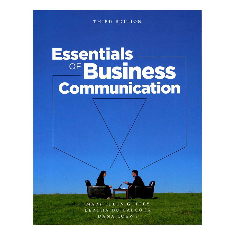 Bìa sách Essentials Of Business Communication