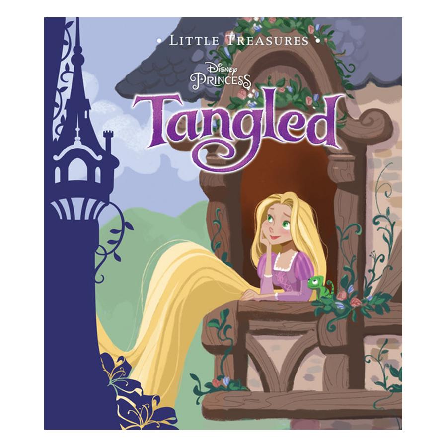 Bìa sách Disney Little Treasures - Princess Tangled