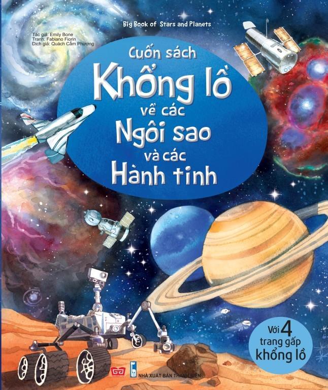 Bìa sách Big Book Of Stars And Planets - Cuốn Sách Khổng Lồ Về Các Ngôi Sao Và Các Hành Tinh