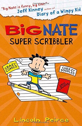 Bìa sách Big Nate Super Scribbler