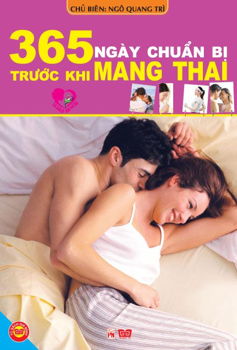 Bìa sách 365 Ngày Chuẩn Bị Trước Khi Mang Thai