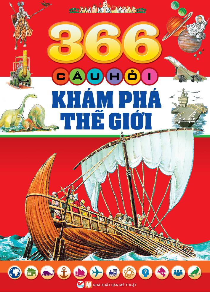 Bìa sách 366 Câu Hỏi Khám Phá Thế Giới