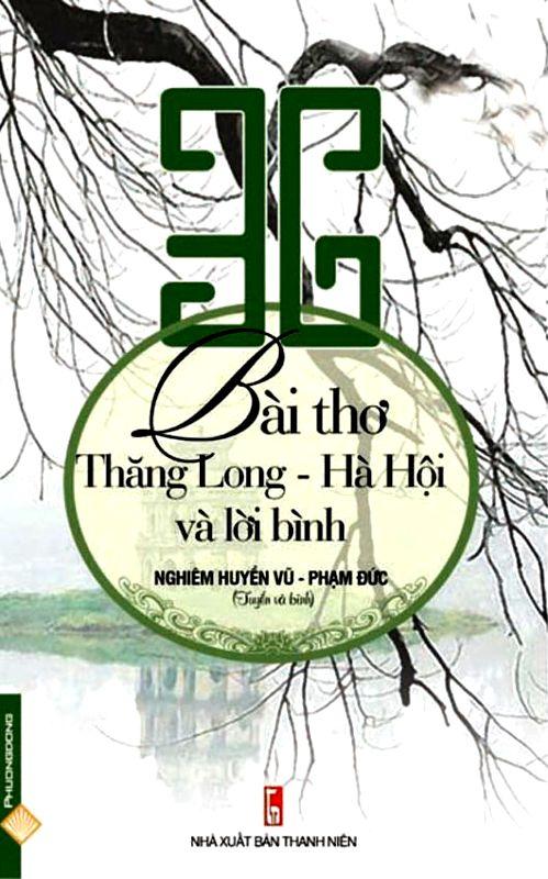 Bìa sách 36 Bài Thơ Thăng Long - Hà Nội Và Lời Bình