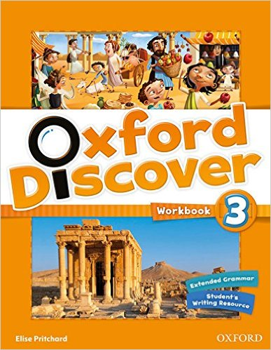 Bìa sách Oxford Discover 3: Workbook - Paperback