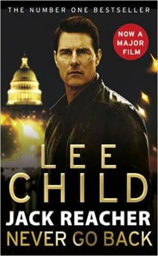 Bìa sách Jack Reacher: Never Go Back - Paperback