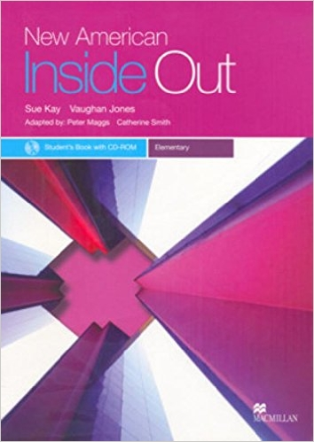 Bìa sách New American Inside Out Ele: Student Book With CD-Rom - Paperback