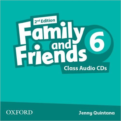 Bìa sách Family  Friends (2 Ed.) 6 Class Audio CD (3) - Paperback