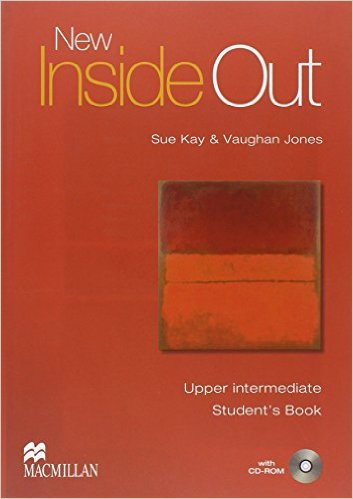 Bìa sách New Inside Out Upper-Inter: Student Book With CD-Rom - Paperback
