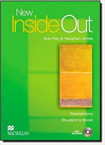 Bìa sách New Inside Out Ele: Student Book With CD-Rom - Paperback