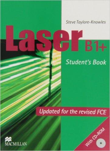 Bìa sách Laser (2 Ed.) B1+: Student Book  CD-ROM Pack - Paperback