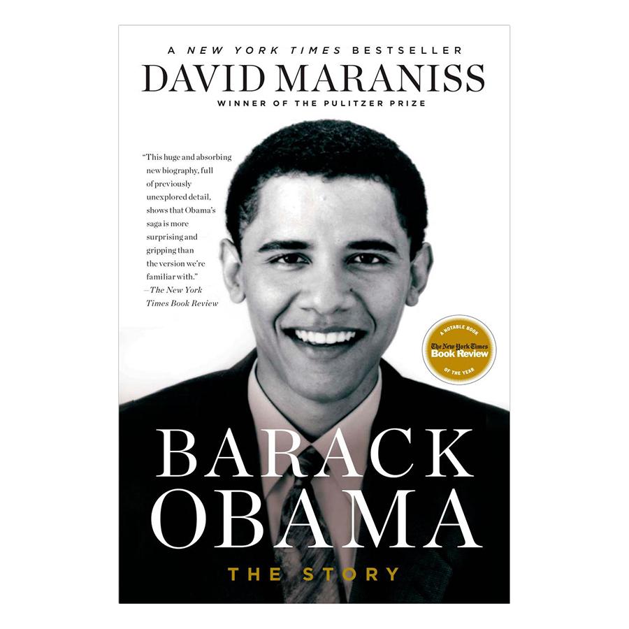 Bìa sách Barack Obama: The Story