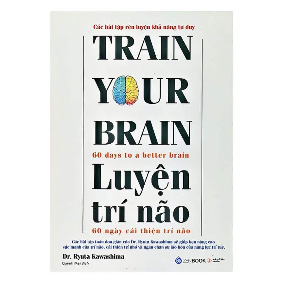 Bìa sách Luyện Trí Não - 60 Ngày Cải Thiện Trí Não