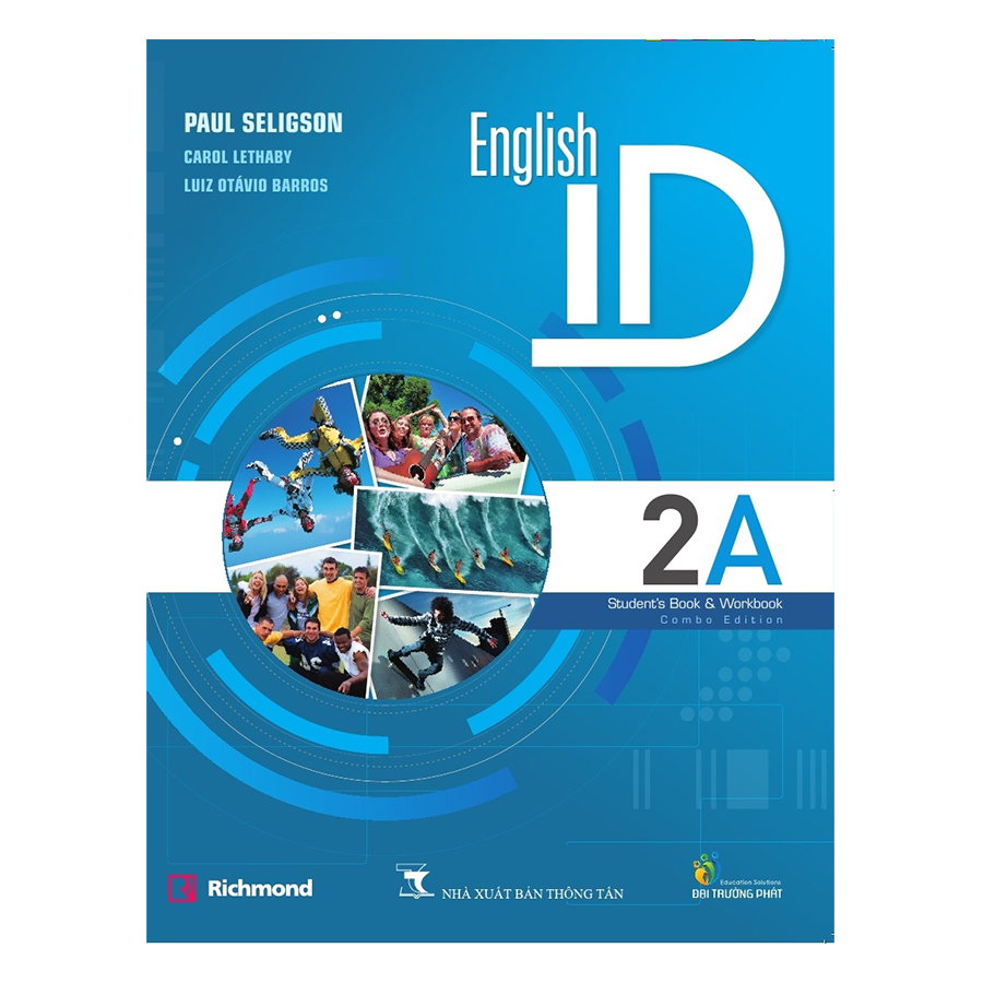 Bìa sách English ID 2A Students Book - Pack (Student Book And Class CD With English Central Code)