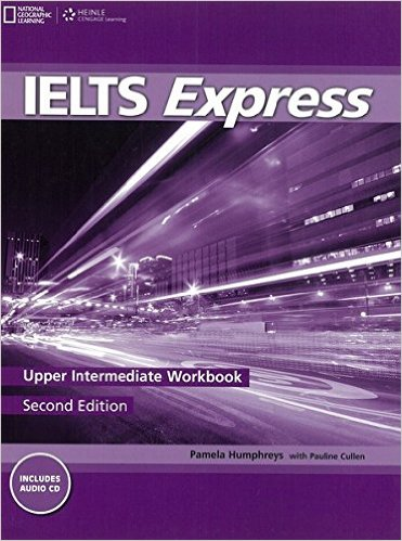 Bìa sách IELTS Express (2 Ed.) Upper-Inter: Workbook With Audio - Paperback
